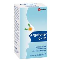 ARGOTONE 0-12 soluz nasale 20ml